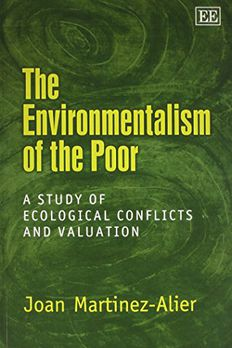 The Environmentalism of the Poor book cover