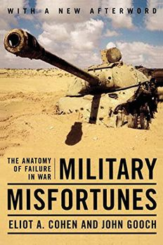 Military Misfortunes book cover