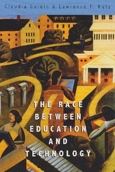 The Race between Education and Technology book cover