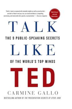 Talk Like Ted book cover