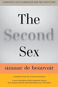 The Second Sex book cover