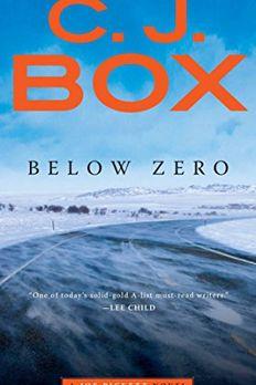 Below Zero book cover