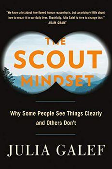 The Scout Mindset book cover