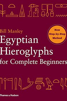Egyptian Hieroglyphs for Complete Beginners book cover