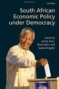 South African Economic Policy under Democracy book cover