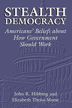 Stealth Democracy book cover