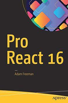 Pro React 16 book cover