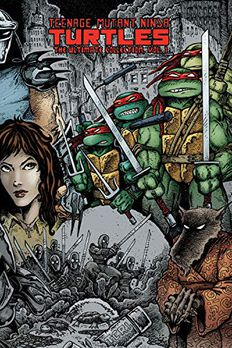 Teenage Mutant Ninja Turtles book cover
