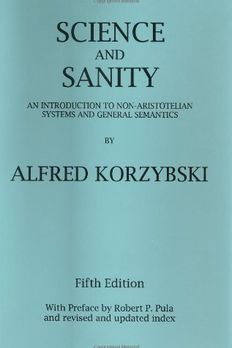 Science and Sanity book cover