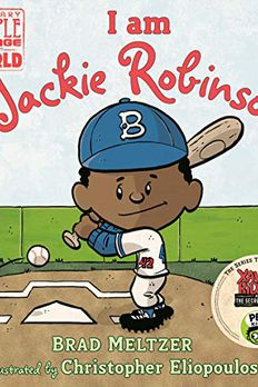 I am Jackie Robinson book cover