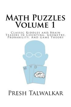 Math Puzzles Volume 1 book cover