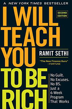 I Will Teach You to Be Rich, Second Edition book cover
