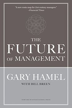 The Future of Management book cover
