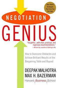 Negotiation Genius book cover