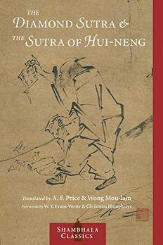 The Diamond Sutra and the Sutra of Hui-neng book cover