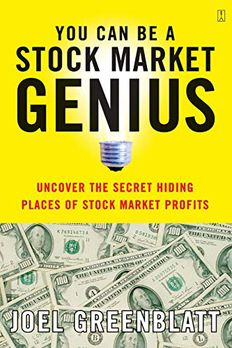 You Can Be a Stock Market Genius book cover
