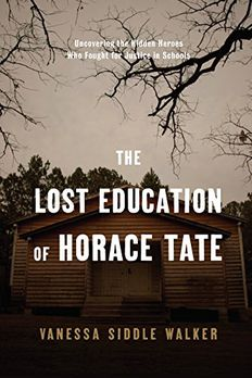 The Lost Education of Horace Tate book cover