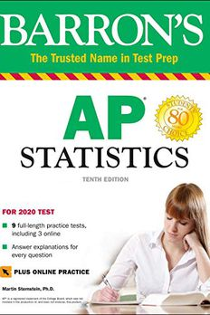 AP Statistics with Online Tests book cover