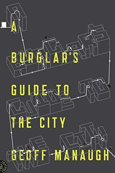 A Burglar's Guide to the City book cover