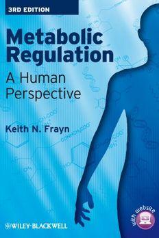 Metabolic Regulation book cover