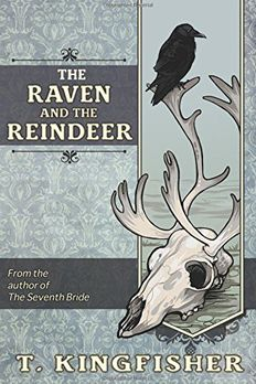 The Raven & The Reindeer book cover