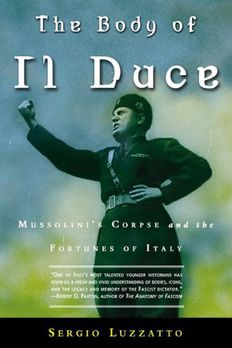 The Body of Il Duce book cover
