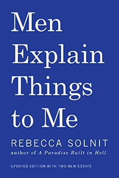 Men Explain Things to Me book cover