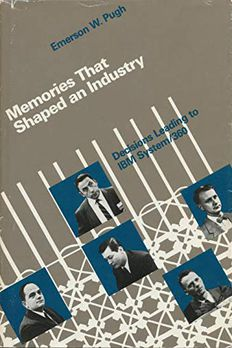 Memories that Shaped an Industry book cover