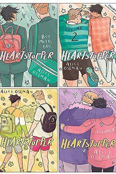 Heartstopper Series Volume 1-4 Books Set By Alice Oseman book cover