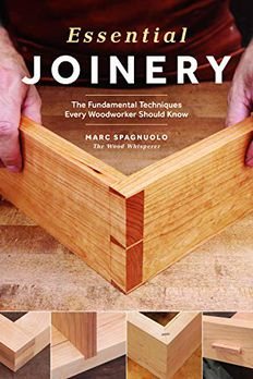 Essential Joinery book cover
