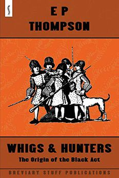 Whigs and Hunters book cover