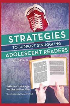 Strategies to Support Struggling Adolescent Readers, Grades 6-12 book cover