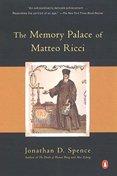 The Memory Palace of Matteo Ricci book cover