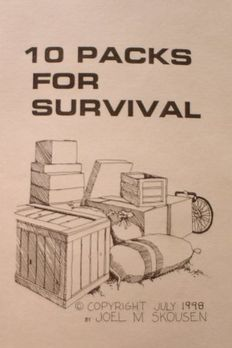 10 Packs For Survival book cover