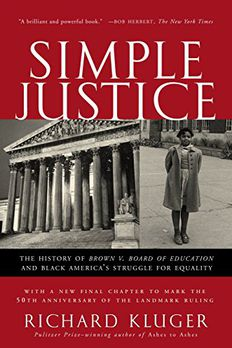 Simple Justice book cover