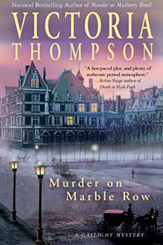 Murder on Marble Row book cover