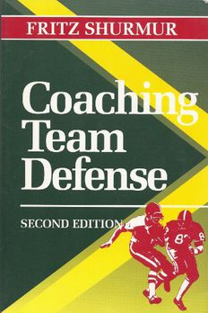 Coaching Team Defense book cover