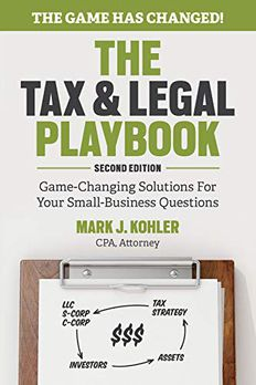 The Tax and Legal Playbook book cover