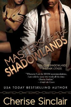Masters of the Shadowlands book cover