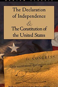 The Declaration of Independence and The Constitution of the United States book cover