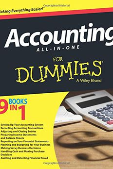 Accounting All-in-One For Dummies book cover