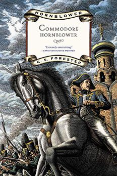Commodore Hornblower book cover