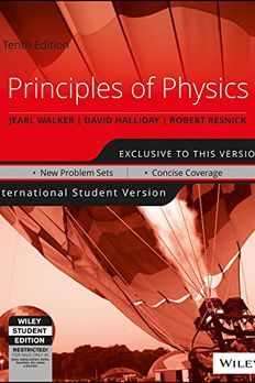 Principles of Physics book cover