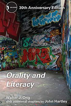 Orality and Literacy book cover