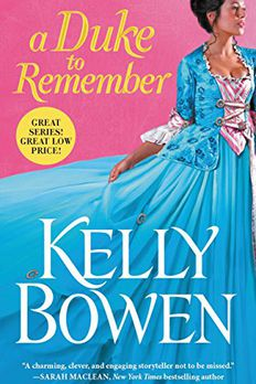 A Duke to Remember book cover