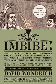 Imbibe! Updated and Revised Edition book cover
