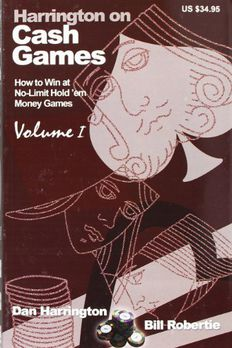 Harrington on Cash Games book cover