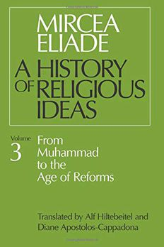 A History of Religious Ideas, Vol. 3 book cover