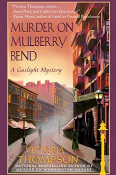 Murder on Mulberry Bend book cover