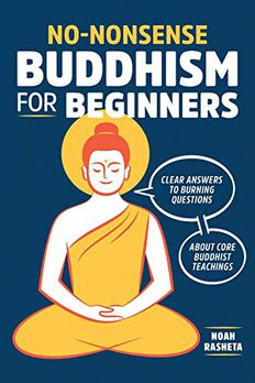 No-Nonsense Buddhism for Beginners book cover